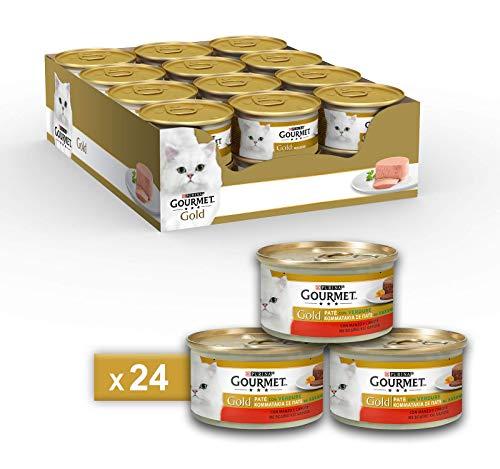 Gourmet Gold Pâté pour Le Chat, avec légumes, avec...