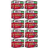 AgfaPhoto Vista plus 400 135-36 Negativ Film für Papierbilder (10-er Packbis zu 360 Aufnahmen) - gut und günstig