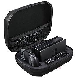 AmazonBasics – Custodia per Nintendo Switch, colore: nero