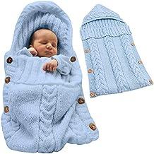Tomwell Saco de Dormir Unisex para Bebés Recién Nacidos Manta para Bebé Carrito de Bebé Blanket