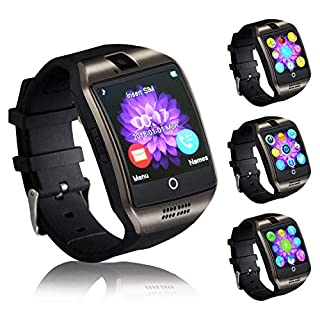 Smart watches with SIM card slot touch screen camera (Pink 2)