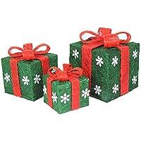 KYWBD Ornamento de la Navidad,Caja Verde