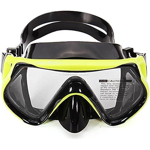 MaMaison007 Vidrio templado buceo natación gafas de máscara