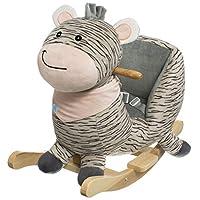 BIECO 74000200 Plush Rocking Animal Zebra, Children