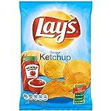 Chips lay's ketchup 130g (Prix Par Unité) Envoi Rapide Et Soignée