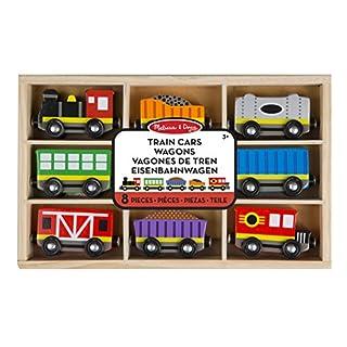 Melissa & Doug 15186 Train Cars Wagons DE Tren railway wagon