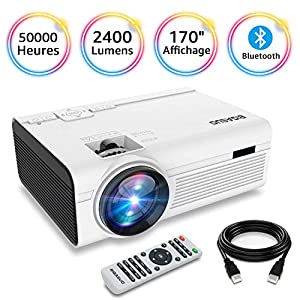 BIGASUO-Vidoprojecteur-2400-Lumens-Portable-LED-Mini-Projecteur-Bluetooth-Soutien-Charge-Le-Format-Plein-HD-1080P-iPhone-Andriod-Jeu-TV-multimdia-Home-Theater-Entertainment