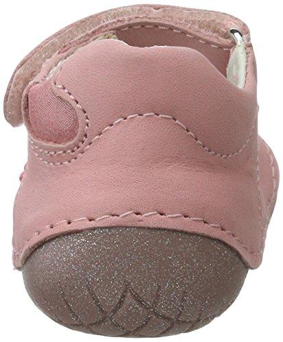 Primigi Ple 7000, Chaussures Quatre Pattes (1-10 Mois) Bébé Fille Rose (Barbie)