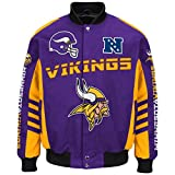 "Minnesota Vikings Men's NFL G-III ""Defender"" Premium Twill Jacket"