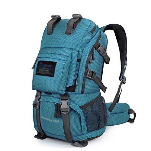 HWLXBB Outdoor Bergsteigen Tasche Männer und Frauen 35L Wasserdichte Mehrzweck-Bergsteigen Tasche Wandern Camping Bergsteigen Freizeit Rucksack Rucksack 4*