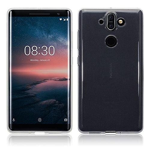 TERRAPIN Coque Nokia 8 Sirocco, Étui Coque en Gel TPU pour Nokia 8 Sirocco Case - Clear