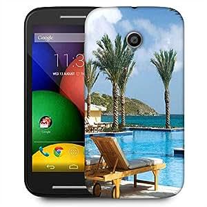 Snoogg Tree In The Pool Designer Protective Phone Back Case Cover For Motorola E2 / MOTO E22