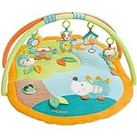 Fehn 154580 3-D-Activity-Decke-Spielbogen mit 5 abnehmbaren Spielzeugen für Babys Spiel & Spaß von Geburt an
