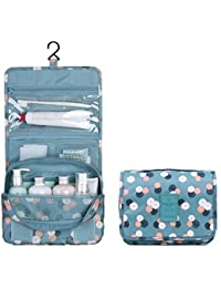 TZWNS Waterproof Lady Beauty Travel Kit Holder Organizer Bathroom Make Up Storage Cosmetic Bag Carry Case Pouch...