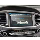 LFOTPP Hyundai Ioniq Hybrid/Elektro 2017 8 pulgadas Navegación–Protector de pantalla para 9H Resistente a los arañazos–Antihuellas Sistema de navegación Protector de pantalla GPS Navi–Protector de pantalla