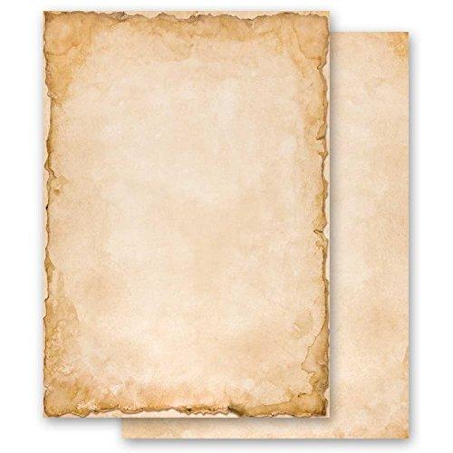 Briefpapier Motiv VINTAGE DIN A5 Format 100 Blatt