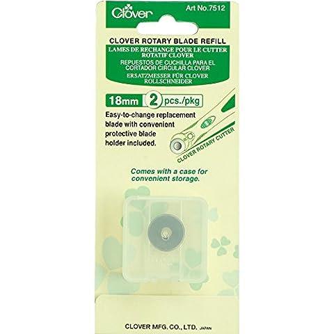 Clover lame de rechange p/cutter rotatif 18mm (2)