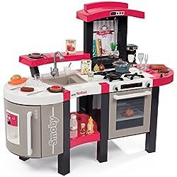 Smoby-311304 Cocina tefal súper Chef Deluxe