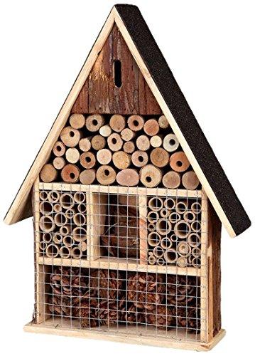 Natural insect hotel, 35 × 50 × 9 cm Test