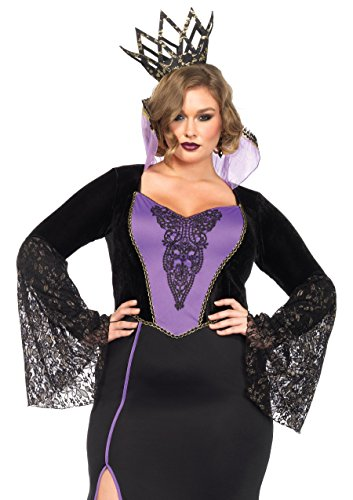 Leg Avenue 85489X - Evil Queen Kostüme, Größe 3X-4X (EUR (Victorian Queen Kostüme)