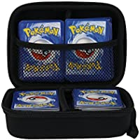 Anter nter Hard Carrying EVA Funda para Tarjetas comerciales Pokémon, portatarjetas con Separador extraíble (