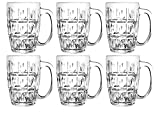 #10: Clear Seidel Pack Of 6 Beer Glasses By Nanson