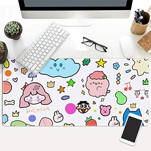 Preisvergleich Produktbild Mauspad Grosses Bunte Große Mausunterlage Computer Mousepad Rutschfeste Gummi-Spiel-Mäusematte Xxl Für Pc-Büro-Tastatur-Matten 780X300X3Mm