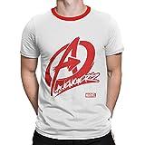 Silly Punter Official Avengers: Avengers Logo Men's Cotton Tshirt