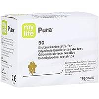 Preisvergleich für MYLIFE Pura Blutzucker Teststreifen 50 St Teststreifen