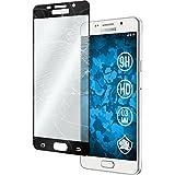 1 x Samsung Galaxy A5 (2016) A510 Pellicola Protettiva Vetro Temperato chiaro full screen nero - PhoneNatic Pellicole Protettive