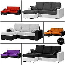 Sofas chaise longue salon cheslong sala de estar comedor + cojin ref-02