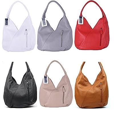 OH MY BAG Sac porté épaule Cuir porté épaule femmes en véritable cuir fabriqué en Italie - modèle MANDALAY
