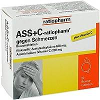 ASS + C-ratiopharm Brausetabletten, 20 St. preisvergleich bei billige-tabletten.eu