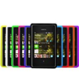 Accessory Master Pack de 10 Housses en silicone pour Nokia Asha 503 Couleurs Assorties
