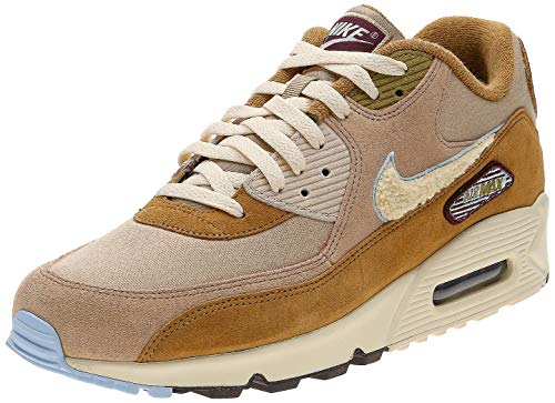 Nike Herren Air Max 90 Premium Se Laufschuhe, Mehrfarbig (Muted Bronze/Light Cream/Royal - Premium 90 Herren Air Max Nike
