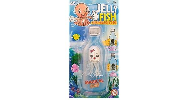 Qualle Jellyfish Suspension Flaschenspiel Flaschen Spielzeug Wasser Spiel