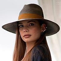 RACEU ATELIER Eva Wide Brim Panamá Khaki - Wide Brim Panamá - Panama Hats -  Handmade 1d415148d074