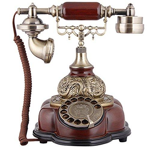 Telefon Plattenspieler Continental Retro Home Festnetz Antiquitäten Altmodisch Kreativ Mode Telefon Festnetz