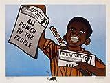 Wee Blue Coo Prints Propaganda Political Civil Rights Newspaper Black Panther Party Poster La Propagande Politique Droits Noir Fête Affiche...