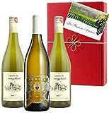 Italien vs. Frankreich 3er Weisswein Geschenk für besondere Anlässe Sommerparty Geburtstag Sauvignon, Chardonnay oder Riesling