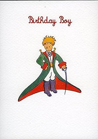 Little Prince Birthday Boy carte de