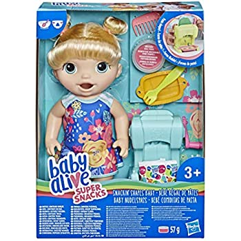 Baby Alive Snack N Spill Baby Blonde Amazon Co Uk