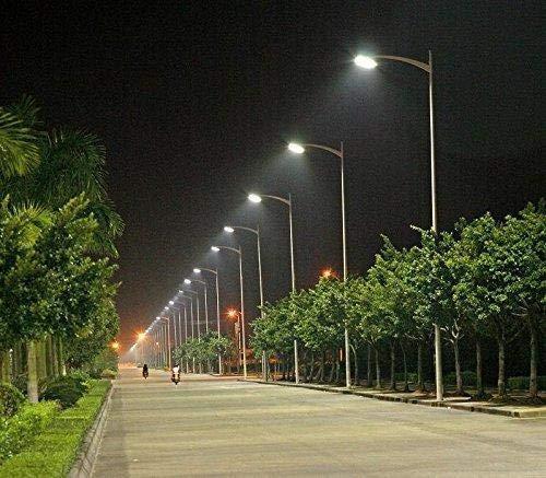 DMTTM 50Watt Waterproof Grey Body Led Street Light for Outdoor Purposes (White, Pack of-1)