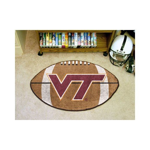 Virginia Tech Hokies 55,9x 88,9cm Fußball Fußmatte (Teppich)
