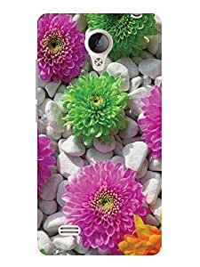 TREECASE Printed Soft Silicone Back Case Cover For Vivo Y21