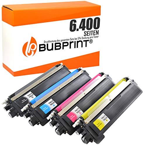 Bubprint 4 Toner kompatibel für Brother TN-230 TN230 TN 230 für DCP-9010CN HL-3040CN HL-3070CW MFC-9120CN MFC-9320CW Schwarz Cyan Magenta Gelb -