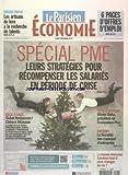 PARISIEN ECONOMIE du 03/12/2012 - SPECIAL PME - LEURS STRATEGIES POUR RECOMPENSER LES SALARIES EN PERIODE DE CRISE - TICKET RESTAURANT ET CHEQUE DEJEUNER - OLIVIER DUHA - FISCALITE DES CADEAUX D'ENTREPRISE - LES ARTISANS DU LUXE A LA RECHECHE DE TALENTS...