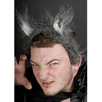 Orejas del lobo gris en diadema