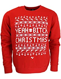 Breaking Bad Christmas B*tch Christmas Jumper Red Official Licensed TV