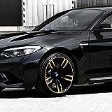 4X Felgensticker Felgenaufkleber Foliensatz für Felge BMW 19
